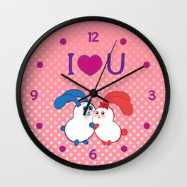 Ernest | Loves Coraline Wall Clock