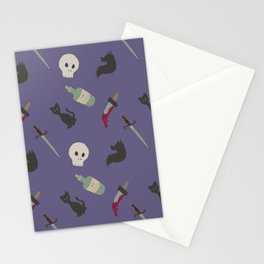 Stabby stab Stationery Cards