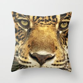 Panthera onca Throw Pillow