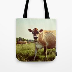 jersey cow Tote Bag