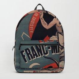 Old sign / Les Mystères de la franc-maçonnerie Backpack