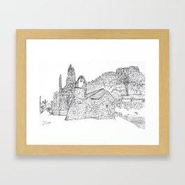 Marjan Split Framed Art Print