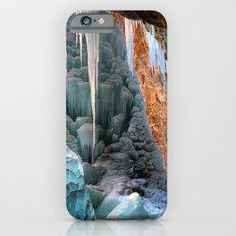Frozen Waterfall  Hanging Lake Winter Colorado iPhone Case