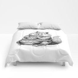 Fat Hamster Comforters