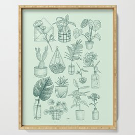 PLANTS LOVER Serving Tray