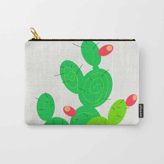 Potted Cactus Carry-All Pouch