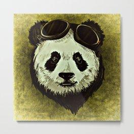 XIX Wild Panda Metal Print