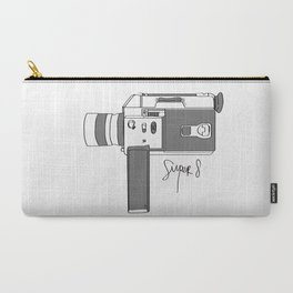 Super 8! Carry-All Pouch