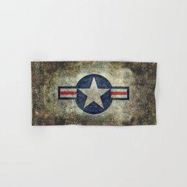 USAF vintage retro style roundel Hand & Bath Towel