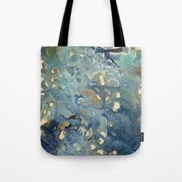 Intergalactic Fantasy - Mixed Media Painting - Abstract Art Tote Bag