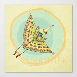 Souther Canvas Print
