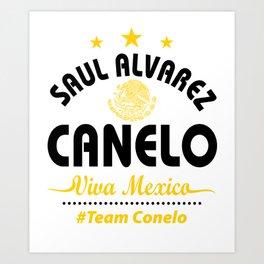 Canelo Shirt Art Print