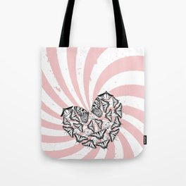 Love Conquers Hate Tote Bag