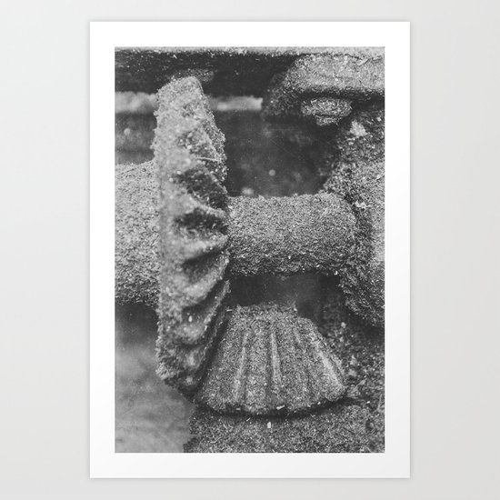 Give me the Gears Art Print