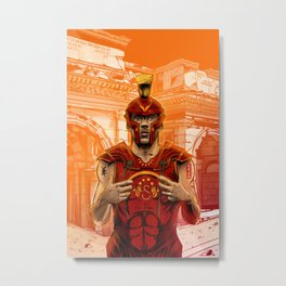 German Gladiator Podolski Metal Print