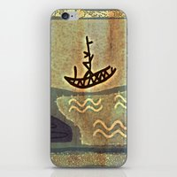 boat iPhone & iPod Skins featuring Boat by Menchulica
