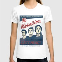 propaganda T-shirts featuring The Rebellion - Propaganda by Head Glitch