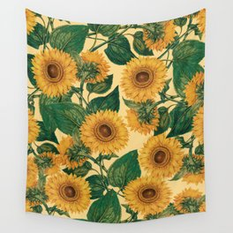 Helianthus Annuus Wall Tapestry