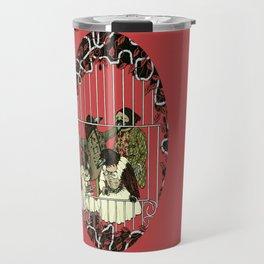 Crow Serie :: At The Balcony (after Goya) Travel Mug