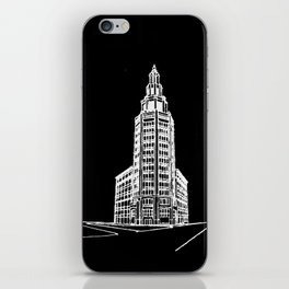 the Electric Tower at Night iPhone Skin