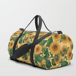 Helianthus Annuus Duffle Bag