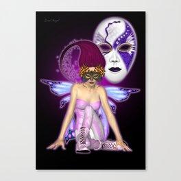 Queen of Fantasy and Mischief .. fantasy Canvas Print