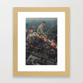 Big City Life Framed Art Print