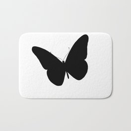 spring with butterfly flies Bath Mat