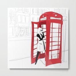 London Calling Metal Print