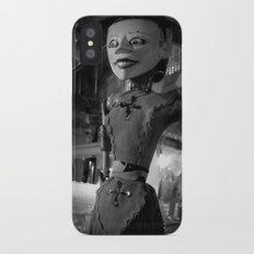 antique store puppet Slim Case iPhone X