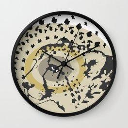 Chetah Wall Clock