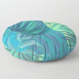 soft tropic Floor Pillow