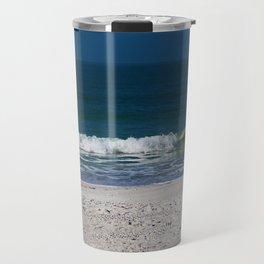 The Sandpiper and the Sea Travel Mug