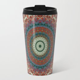 Basal Color Mandala 9 Travel Mug