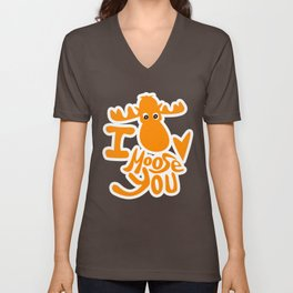 I moose you Unisex V-Neck