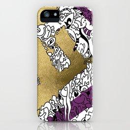 Goldfinger in Purple iPhone Case