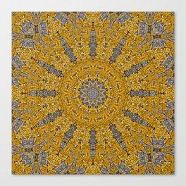Gelbe FLechten 3 Canvas Print