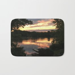 Lake Life - July Sunset Bath Mat