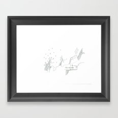 paper_7 Framed Art Print