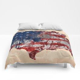 america map  Comforters
