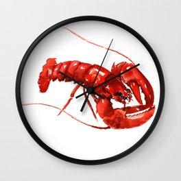 Red Lobster, restaurant kithcne design boston Wall Clock