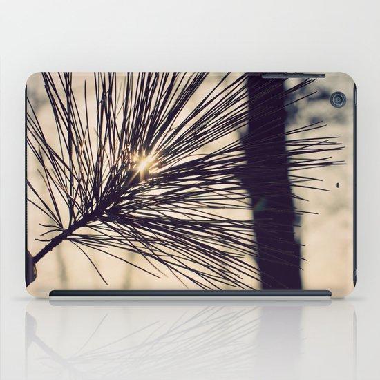 Peaking Through iPad Case