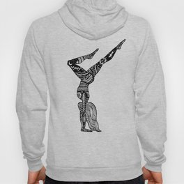 Yoga Girl - Handstand Moon and Stars Hoody