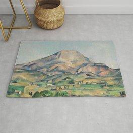 Paul Cezanne Mont Sainte-Victoire (La Montagne Sainte-Victoire) 1892-1895 Rug