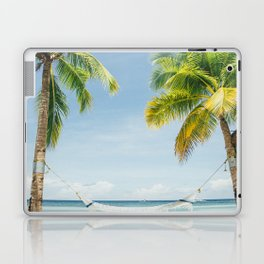 Palm trees, hammock Laptop & iPad Skin