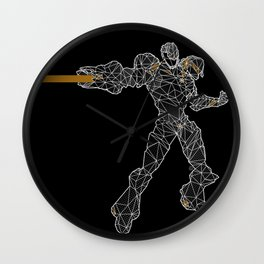 Polyborg Wall Clock