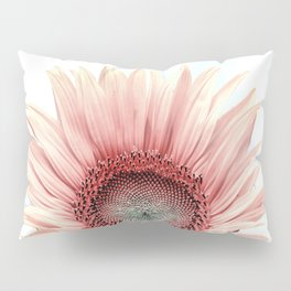 Pink Sunflower Pillow Sham