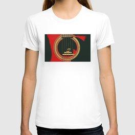 Guitar Sound Hole T-shirt