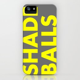 SHADE BALLS iPhone Case