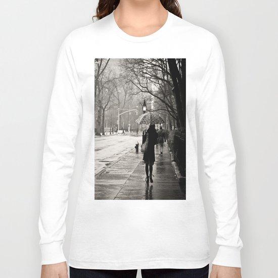 New York City - Rain Long Sleeve T-shirt